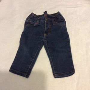 Baby girls old navy jeans sz 3-6 months